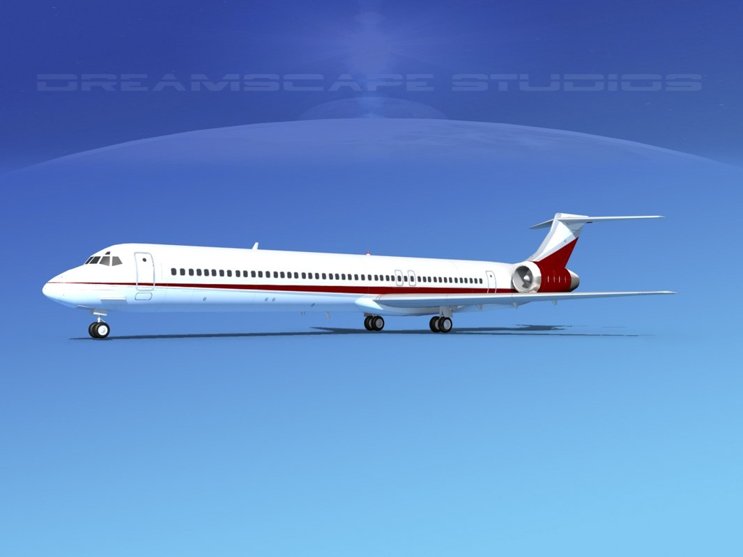 md-83 aircraft passengers model