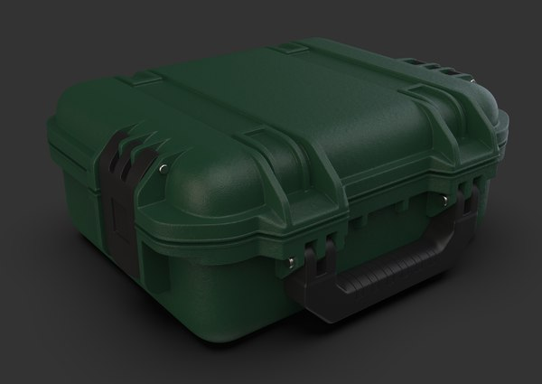 3D container sci-fi