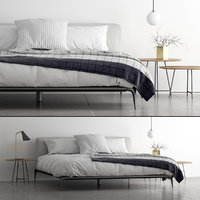 3D model poliform park bed set