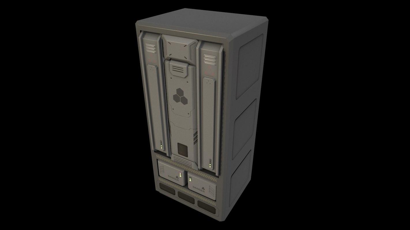 sci-fi server model
