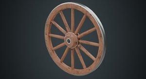 3D wagon wheel 1a