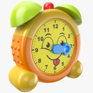 3D model childrens clock