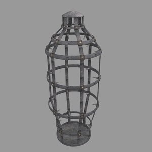 cage 3D model