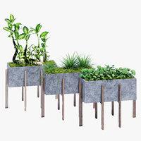 berlin concrete accent 3D model