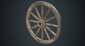wagon wheel 1b 3D