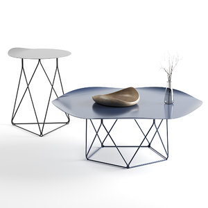 coda coffee table 3D model