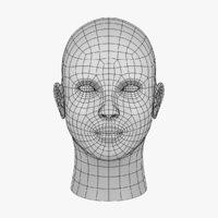 base head 3D