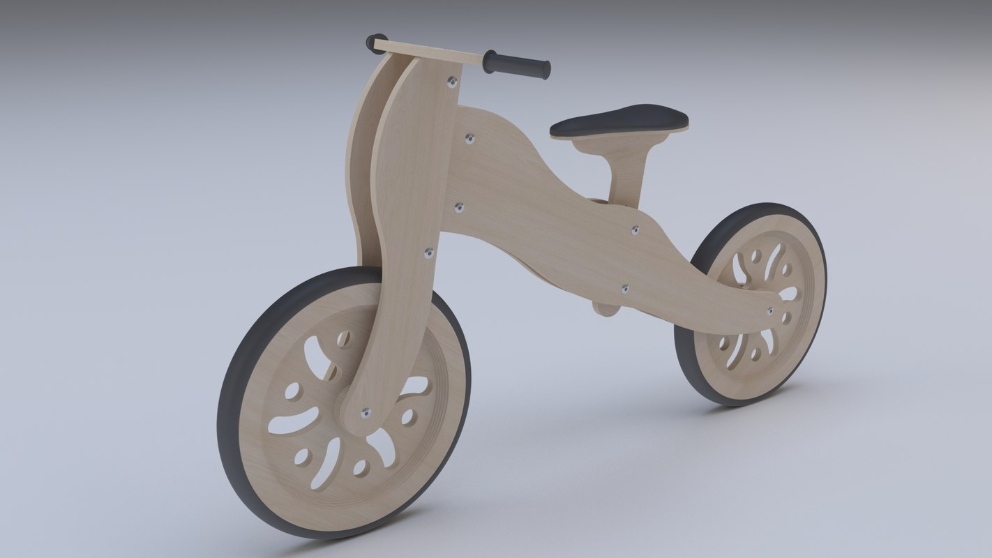 3D dibi bike