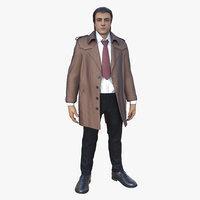 detective gustave 3D model