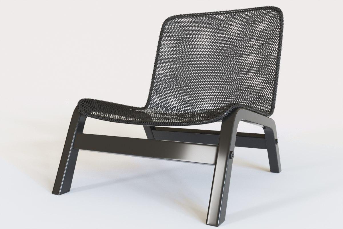 3D chair kitchen corona model