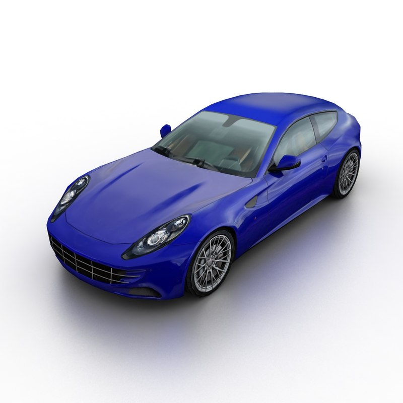 3D generic coupe