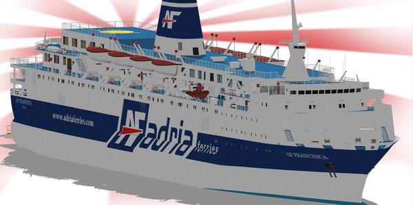 3D ferries af francesca