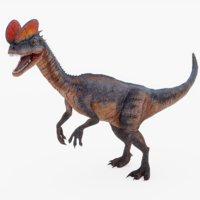 dilophosaurus 3D
