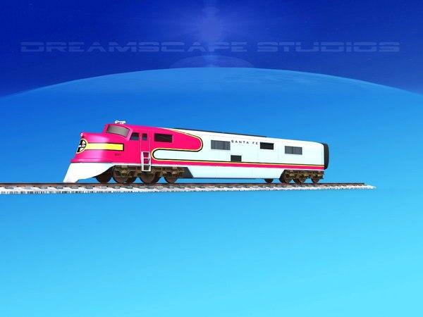 trains locomotive model