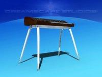 3D yamaha synthesizer