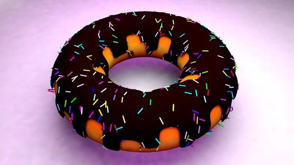 pack donut 3D