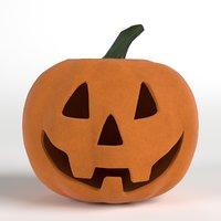 3D jack halloween pumpkin