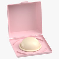 diaphragm birth control 3D model