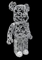 3D model wire bear brick