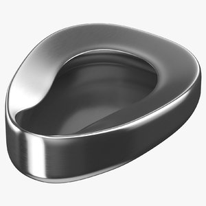 pan bedpan bed 3D model