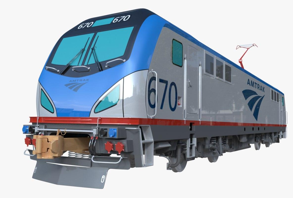 locomotive siemens acs-64 model