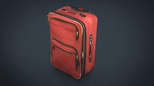 3D suitcase case