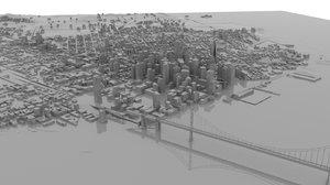 3D mesh san francisco