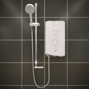 3D mira sport shower model