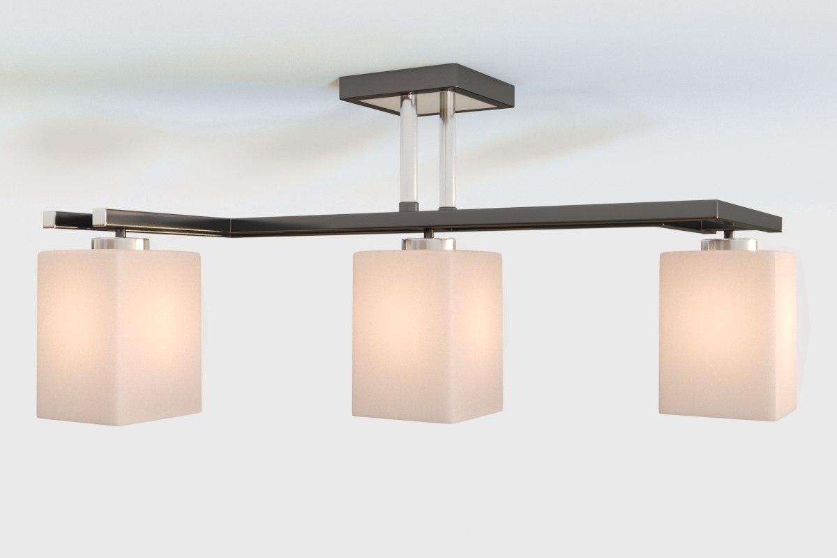 minimal chandelier corona 3D