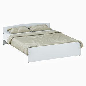 3D bed todalen ikea model