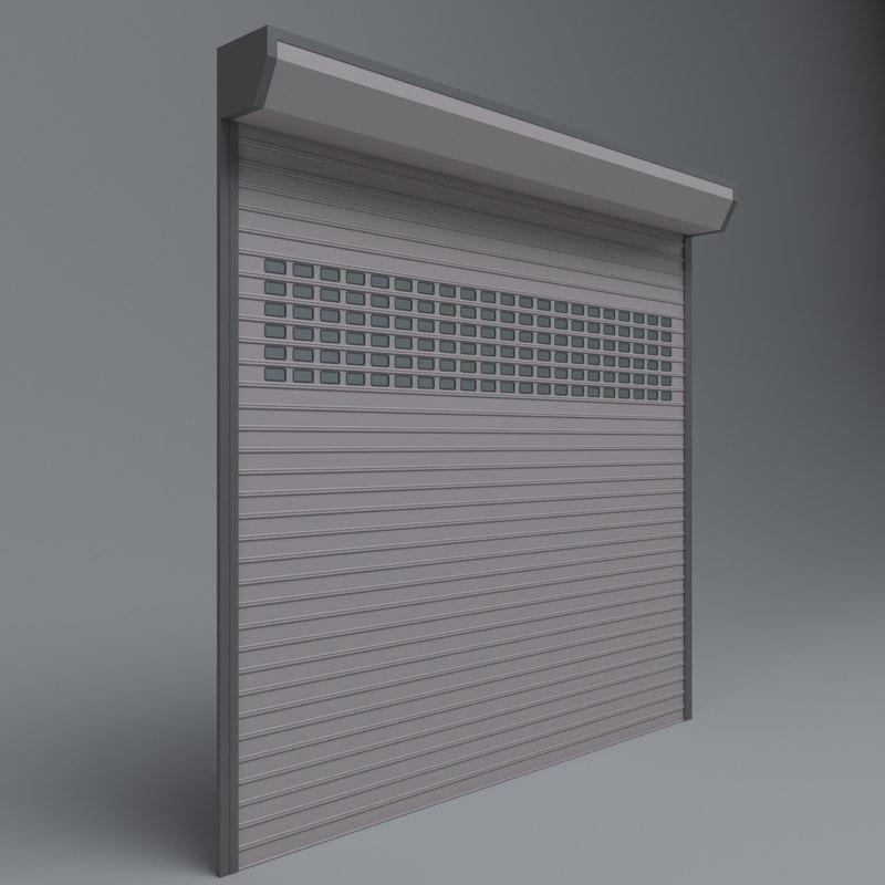 3D garage door electric