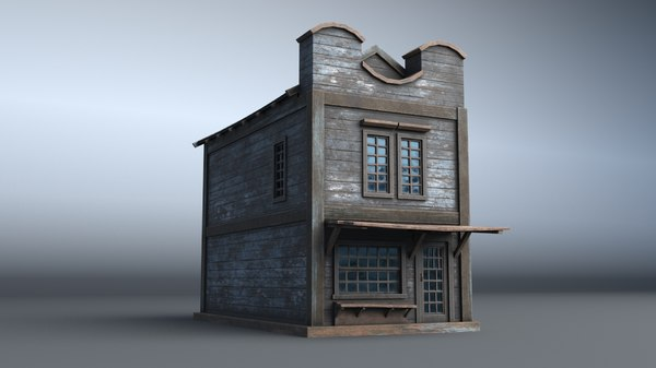 western house 10 village 3D