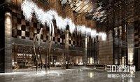 hall lobby 3D model