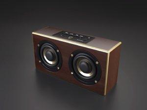 speaker wireless 3D model