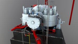 3D compressor