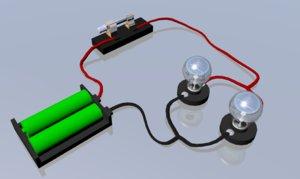 3D simple circuit model