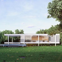 3D farnsworth house model