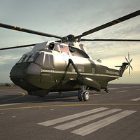 marine sikorsky sea 3D model