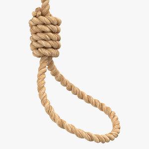 noose worn 3D