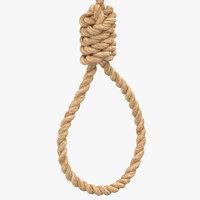 hang noose 3D model