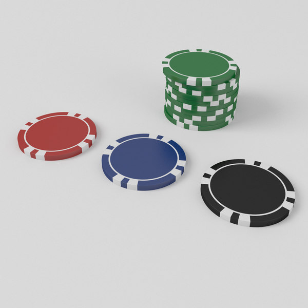 3D custom poker chips