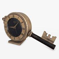 swiza clock 3D model