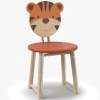 kids chair 3D