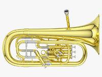 euphonium 3D model
