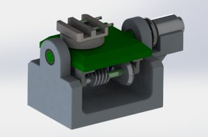 3D biaxial angular rotation mechanism