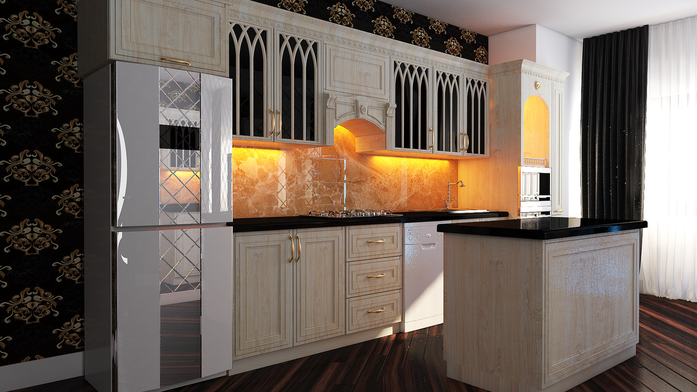 3D kitchen classic sehiyye