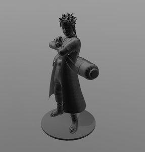 naruto print 3D model