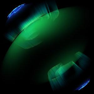 auroras sky lights 3D model