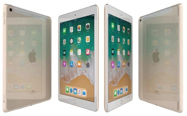 apple ipad 9 7 3D model