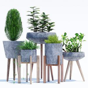 3D berlin concrete model